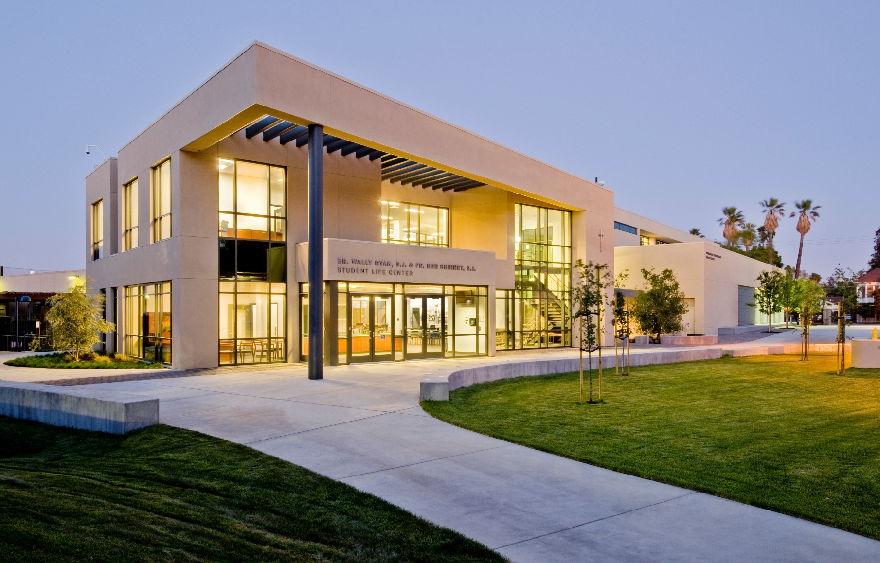 Image of Bellarmine College Preparatory, Auxiliary Gym And Student Life Center