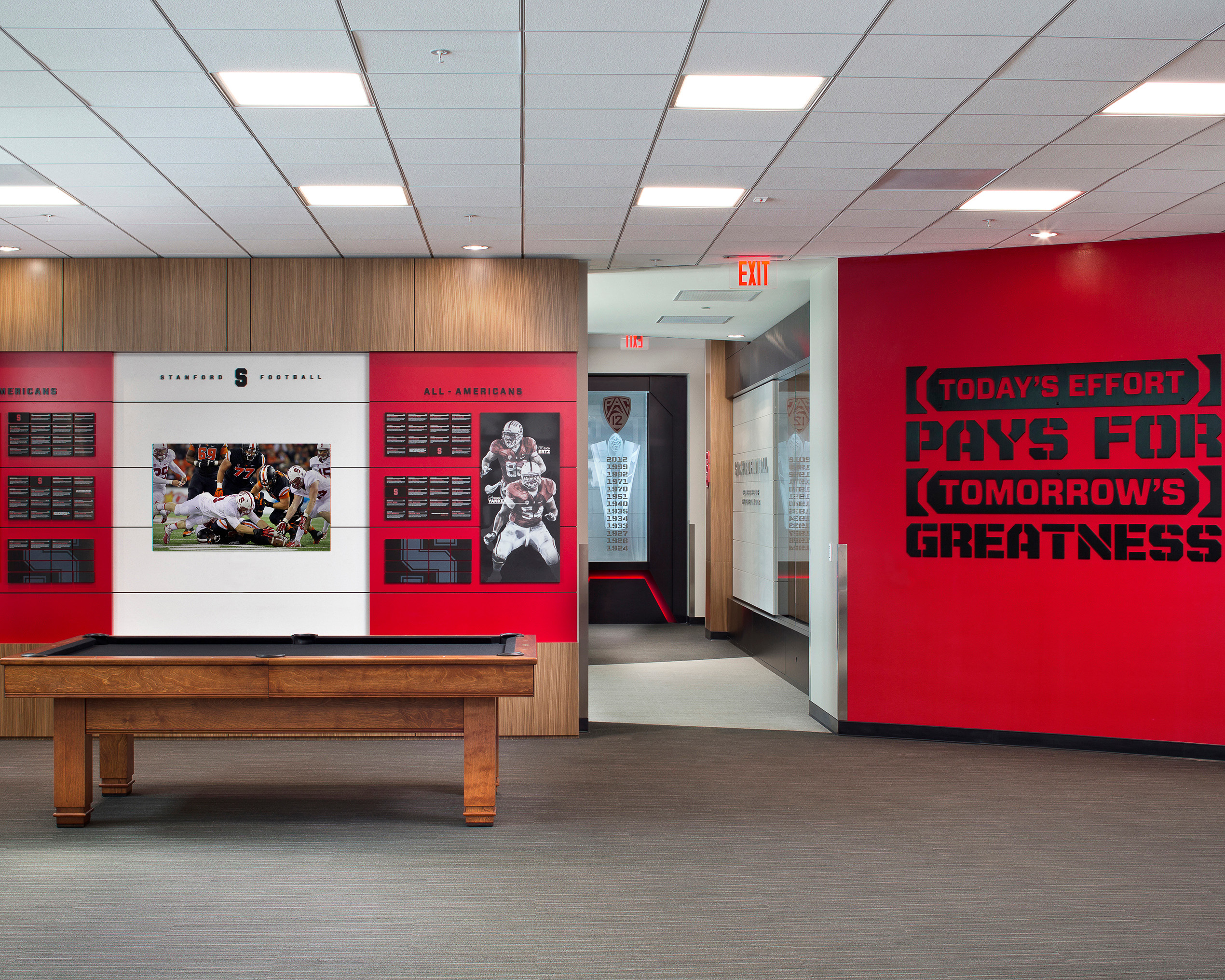 Image of Stanford Football Field House and High Performance Center