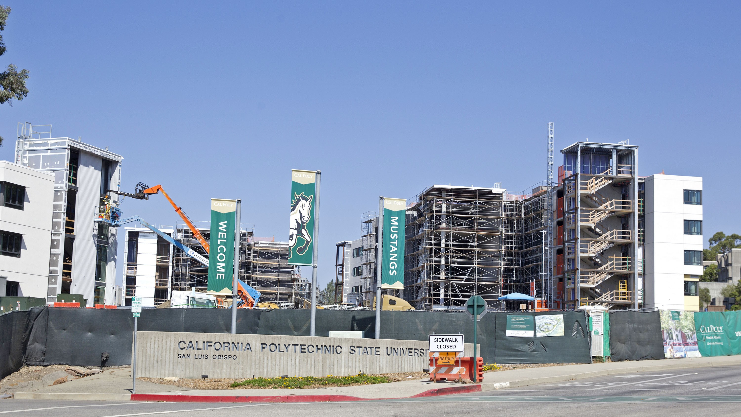 Image of Cal Poly Student Housing South